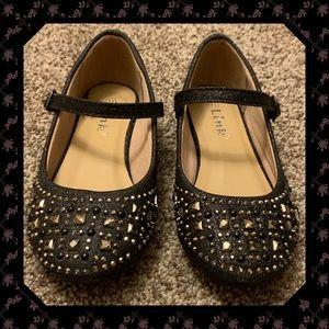 Black Embellished Dress Shoes sz. 11